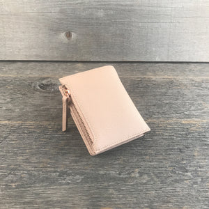 Small Wallet Blush and Rose Gold