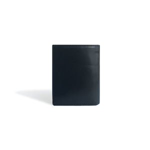 Front Pocket Wallet Black Leather