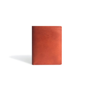 Minimalist Wallet Cognac Leather