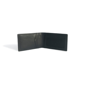 Slim Wallets for Men Money Clip Black