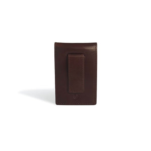 Money Clip Wallet Whiskey Leather