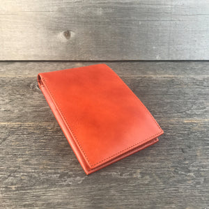 Passport Wallet Cognac Leather by DVGNT