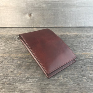 Travel Wallet Whiskey Leather by DVGNT