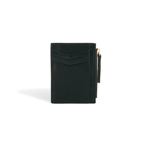 Card Holder Wallet Black and Rose Gold