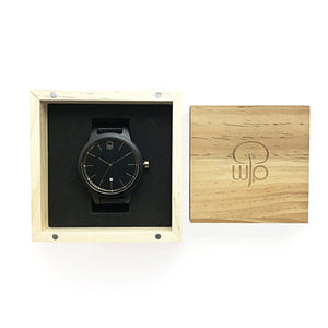 Wood Watch Box Gift - The Havasu Minimalist Wooden Watch Packaging Swiss Movement