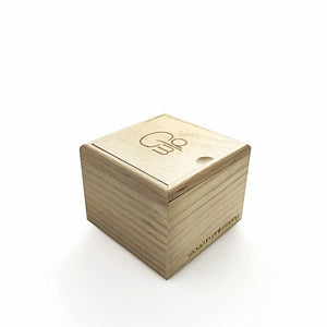 Wooden Watch Box - Wood In Philosophy Packaging