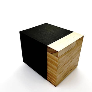 Wood Gift Box Wood Watch - Wood In Philosophy Packaging Black