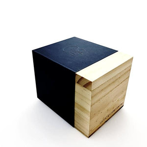 Wood Watch Box Gift - Wood In Philosophy Packaging Blue