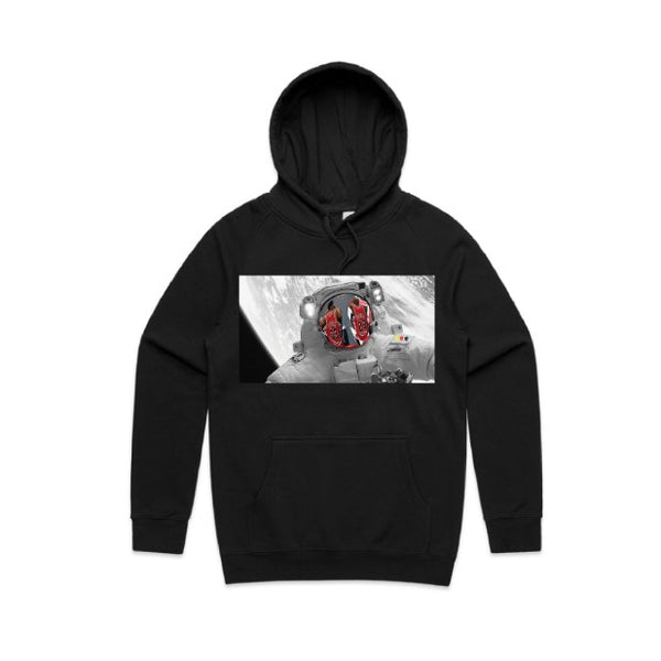 BLACK Limitless Hoodie  colour print