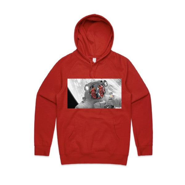 RED Limitless Hoodie  colour print
