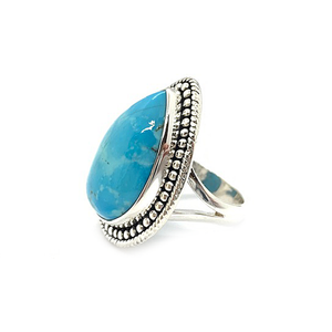 kingman arizona turquoise silver ring