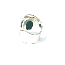 Load image into Gallery viewer, big turquoise gemstone statement ring