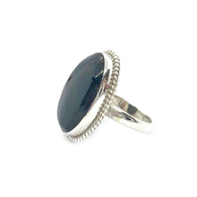Load image into Gallery viewer, Bloodstone Gypsy Style Gemstone Ring