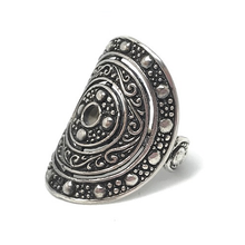Load image into Gallery viewer, circle sterling silver gypsy rings australia