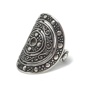 circle sterling silver gypsy rings australia