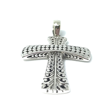 Load image into Gallery viewer, sterling silver tribal style boho pendant