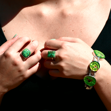 Load image into Gallery viewer, dichroic glass jewellery boho
