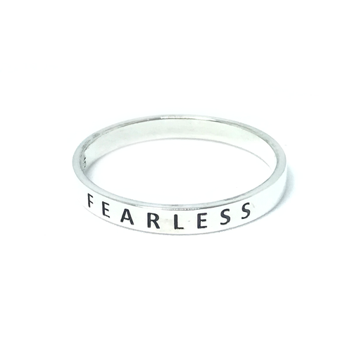 fearless silver ring