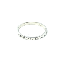 Load image into Gallery viewer, boho stacking kiss hug ring