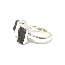 Load image into Gallery viewer, boho style lava stone ring