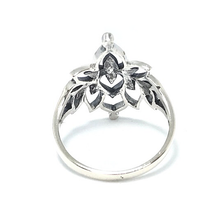 Load image into Gallery viewer, lotus ring in sterling silver