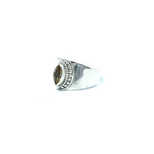 Load image into Gallery viewer, Lemon Quartz Gemstone Ring Sterling Silver - Stoned Hilda Discover the soul of Gemstones