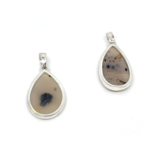 Load image into Gallery viewer, agate montana brown pendant