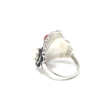Load image into Gallery viewer, sterling silver multi gemstone boho ring