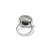 Load image into Gallery viewer, pearl silver boho ring