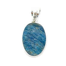 Load image into Gallery viewer, apatite gemstone sterling silver pendant