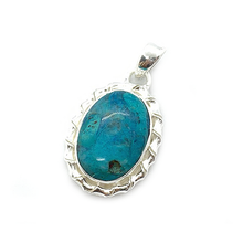 Load image into Gallery viewer, Cameo Shattuckite Bohemian Gemstone Pendant