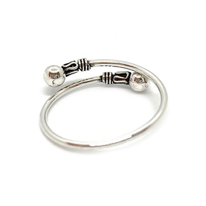 sterling silver boho style ring
