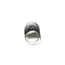Load image into Gallery viewer, silver gypsy bohemian ring