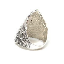 Load image into Gallery viewer, silver chunky statement rings australia