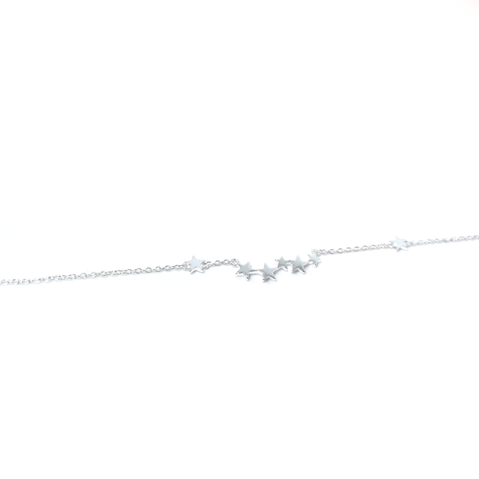 star silver chain necklace