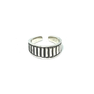 Silver Bohemian Style Toe Ring