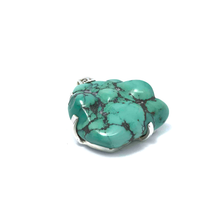 Load image into Gallery viewer, Turquoise Pendant Natural Set In Sterling Silver - Stoned Hilda Discover the soul of Gemstones