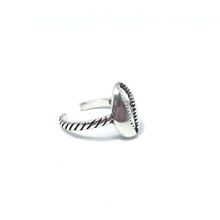 Load image into Gallery viewer, cowrie shell silver bohemian toe ring beach style