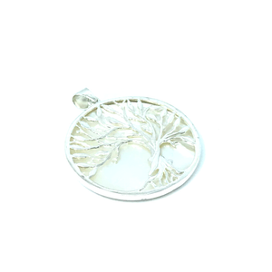 Shell Tree Of Life Pendant Sterling Silver - Stoned Hilda Discover the soul of Gemstones