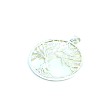 Load image into Gallery viewer, Shell Tree Of Life Pendant Sterling Silver - Stoned Hilda Discover the soul of Gemstones