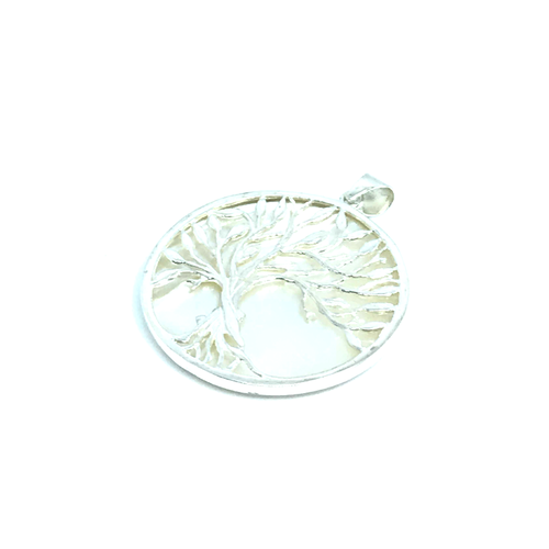 Shell Tree Of Life Pendant Sterling Silver - Quirky Pieces