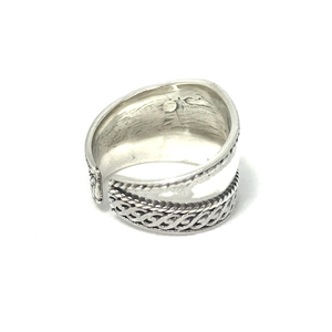 sterling silver gypsy style toe ring