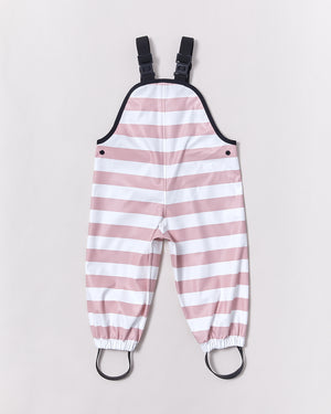 Overalls - Blush Pink Stripe - Rainkoat