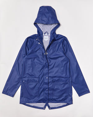 Women's Stripy Sailor - Ink Navy - Rainkoat