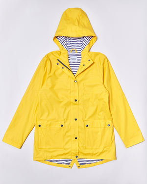 Women's Stripy Sailor - Yellow - Rainkoat