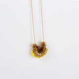 Dus- Long Yellow Elegant Necklace