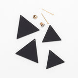 2 Teri- Black Earrings