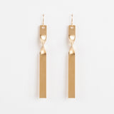 Twist - Gold Earring