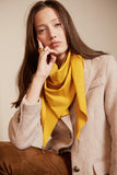 Lenny- Yellow Scarf with Gold elements