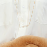 GF- Transparent tube necklace